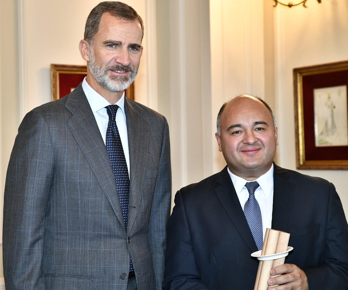 Discurso con motivo de la entrega del Premio Internacional Novia Salcedo a la Integración juvenil, por parte de su Majestad el Rey, Don FelipeVI